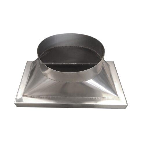 Adaptador metalico Inox 450mm 3