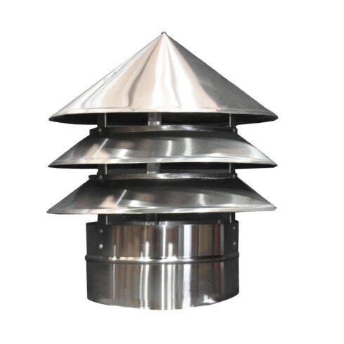 Chapéu metálico Ø 450mm 2