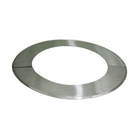 Colarinho metálico Inox Ø 370mm