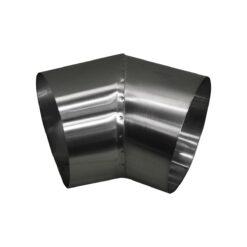Curva metálica inóx Ø 450mm 3