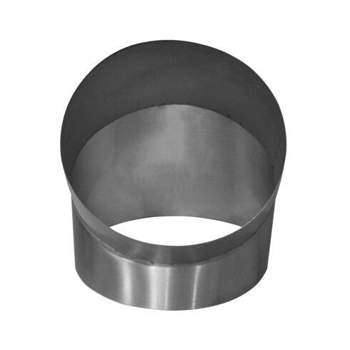 Curva metálica inóx Ø 450mm