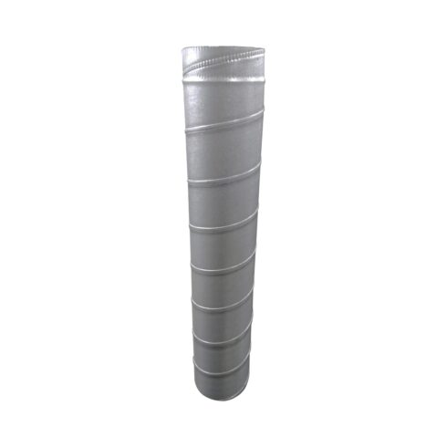 Chaminé metálica galvanizada Ø 450 x 1000mm