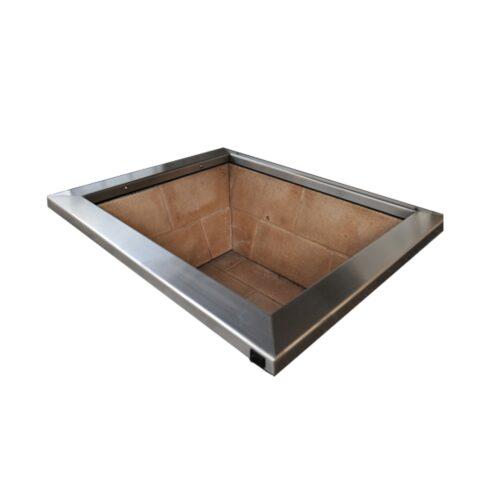 Braseiro Caixa de Fogo para Embutir sobre Bancada CFE750 2